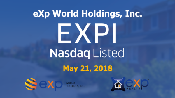 eXp World Holdings is Trading on Nasdaq